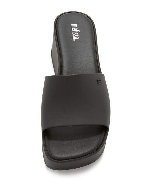 Melissa Donna Jelly Sandals In Black Lyst