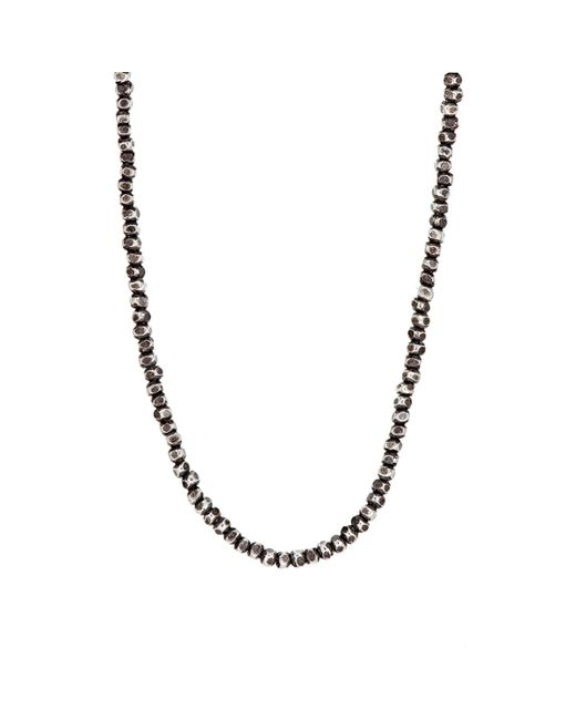M Cohen | Red Beaded Necklace for Men | Lyst