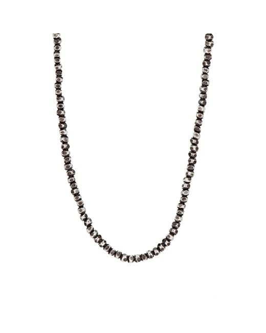 M. Cohen | Red Beaded Necklace for Men | Lyst
