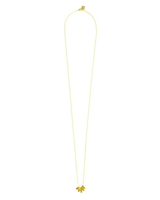 Cloverpost | Metallic Slice Necklace | Lyst