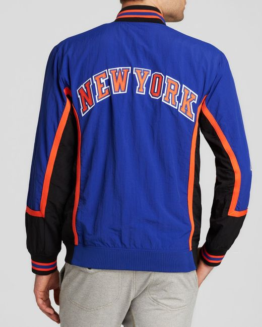 Denver Nuggets Adidas On Court Warm Up Jacket: Mitchell & Ness 1996-97 New York Knicks Authentic Warm Up