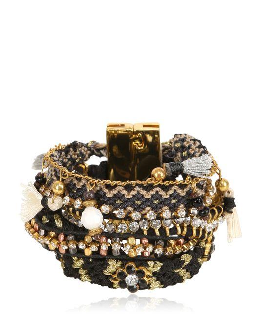 Hipanema | Black Onyx Bracelet | Lyst