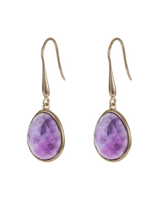 Caroline Creba | Purple 18ct Gold Plated Sterling Silver 9.50ct Amethyst | Lyst