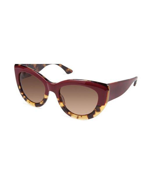 rowley eyewear cynthia cr5030s miss z oxblood tortoise cat