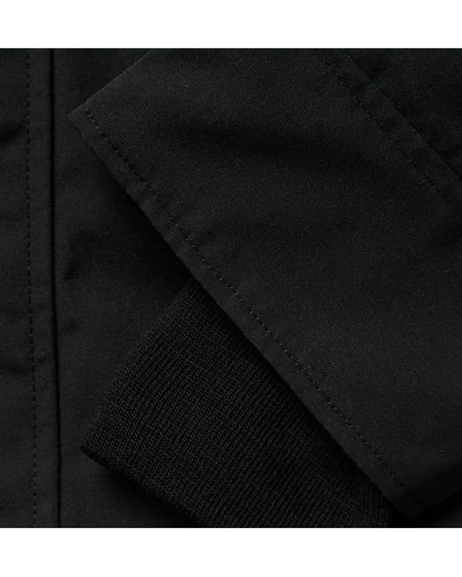 Canada Goose | Black Chateau Coyote-Trimmed Down-Filled Parka for Men | Lyst