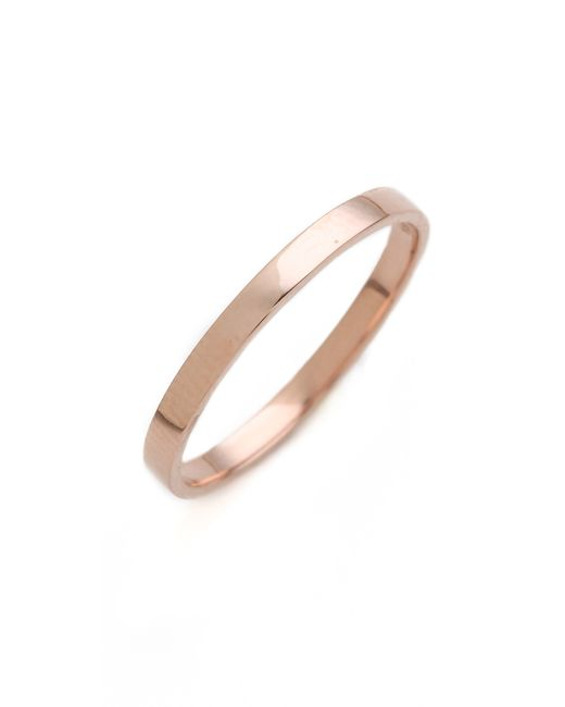 Blanca Monros Gomez | Pink Flat Band Ring | Lyst