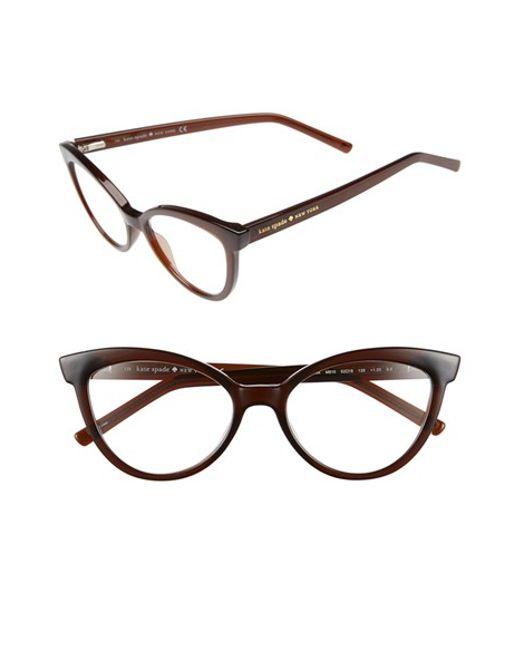 Kate Spade New York Eyeglass Frames : Kate spade new york danna 52mm Cat Eye Reading Glasses ...