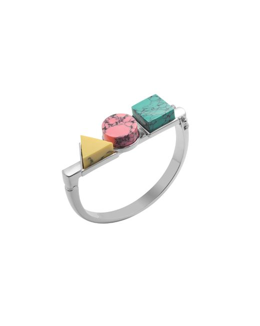 Eshvi   Multicolor Back To School Marble Triple Bracelet   Lyst