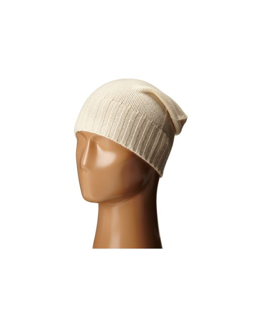 Hat Attack | Natural Cashmere Slouchy | Lyst