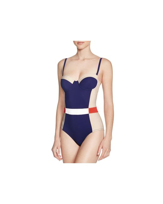 Tory Burch Lipsi One Piece Swimsuit 100 Bloomingdales