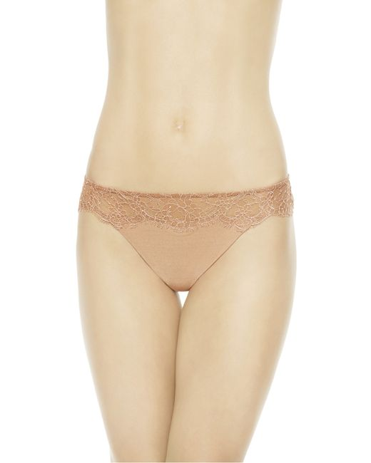 La Perla | Brown Thong | Lyst
