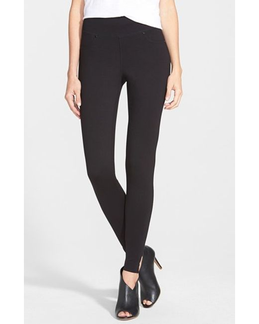 Jag Jeans | Black Ricki Ponte-Knit Skinny Pants | Lyst