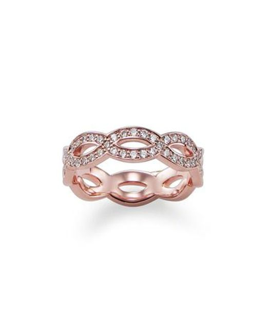 Thomas Sabo | Metallic My Rings Sterling Silver Ring | Lyst