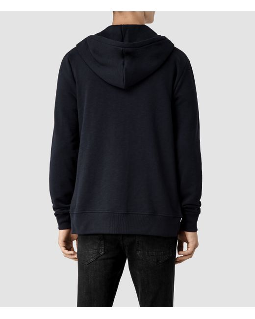 AllSaints | Blue Wilde Hoody Usa Usa for Men | Lyst