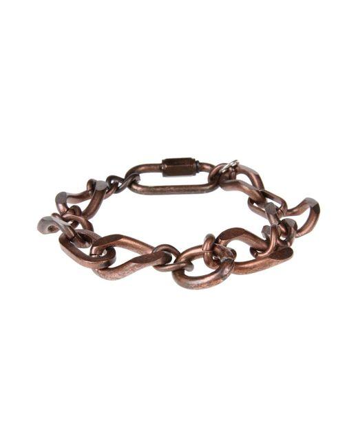 Maison Margiela | Brown Bracelet | Lyst