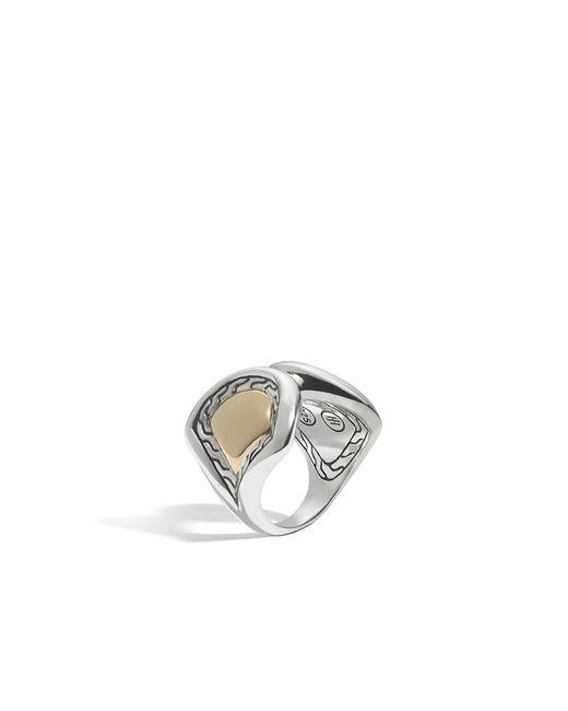John Hardy   Metallic Naga Ring   Lyst