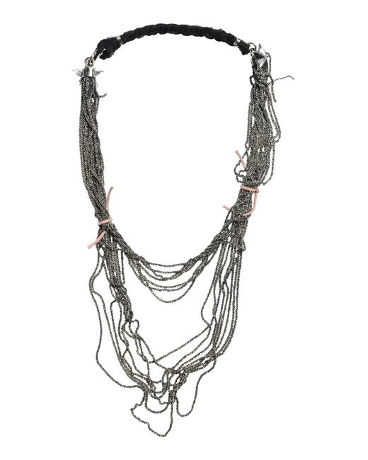 Emanuele Bicocchi | Black Necklace | Lyst