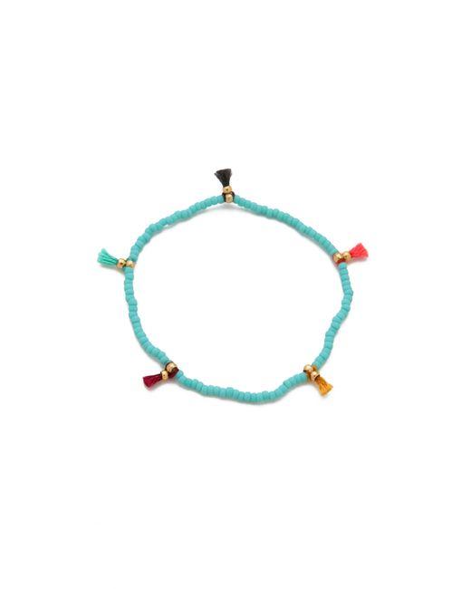 Shashi | Blue Lilu Seed Bracelet | Lyst