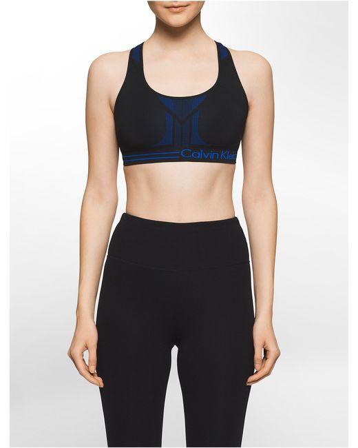 calvin klein white label performance reversible sports bra. Black Bedroom Furniture Sets. Home Design Ideas
