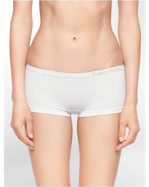 CALVIN KLEIN 205W39NYC - White Underwear Pure Seamless Hipster - Lyst