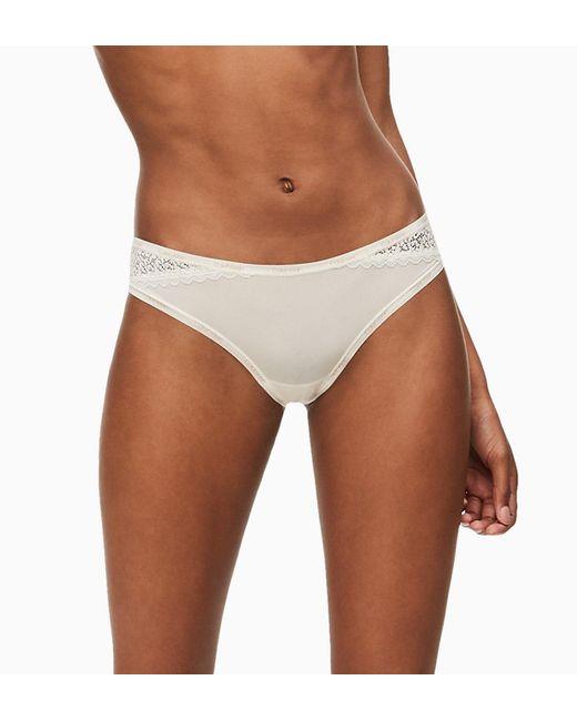 Calvin Klein Slip - Flirty in het White
