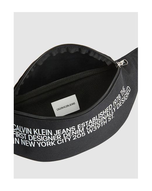 Ri�onera Calvin Klein de hombre de color Black