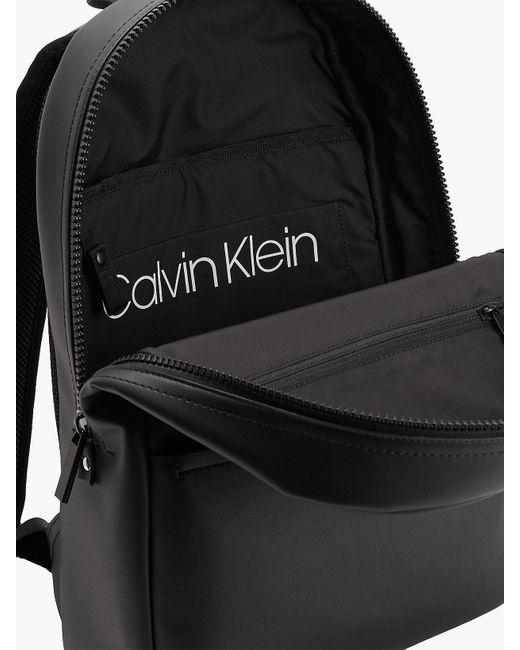Calvin Klein Ronde Rugzak in het Black voor heren
