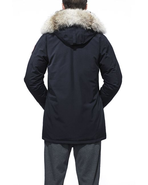 Canada Goose trillium parka sale store - Canada goose Langford Parka Fusion Fit in Blue (Navy) | Lyst