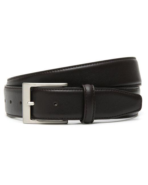Canali - Dark Brown Calfskin Leather Belt for Men - Lyst