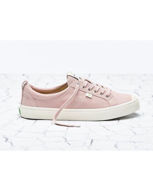 CARIUMA Pink Oca Low Rose Suede Sneaker for men