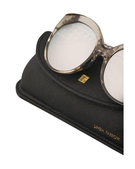 Lyst - Linda Farrow 388 C16 Cat Eye Sunglasses