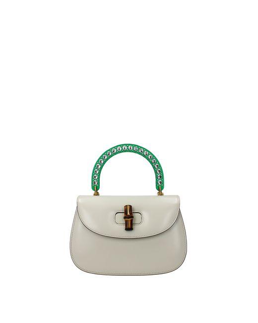 Handbags Bamboo Women White