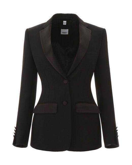 Burberry Black Tailoring Blazer