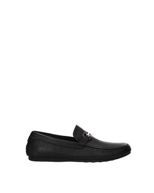 Ferragamo Loafers Cancun Men Black for men