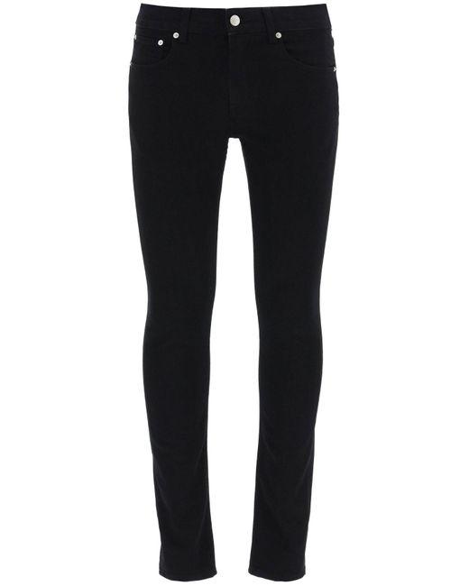 Alexander McQueen Black Slim Fit Jeans for men