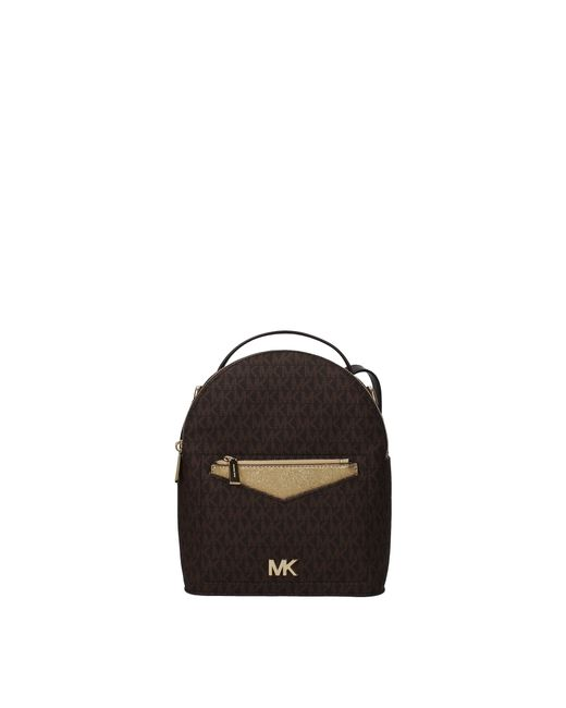 a5df8bc2a294 ... Michael Kors - Multicolor Backpacks And Bumbags Jessa Sm Women Brown -  Lyst ...