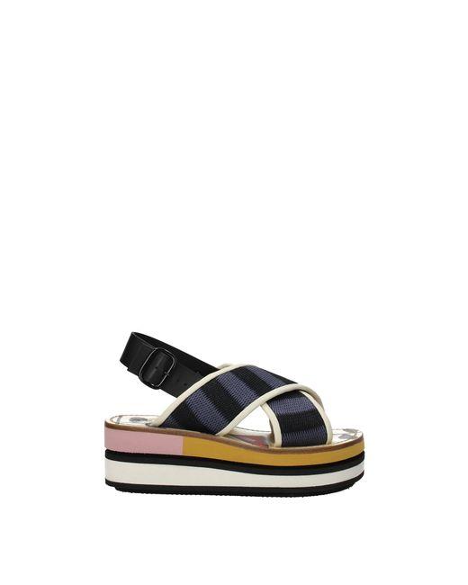 Marni Black Sandals
