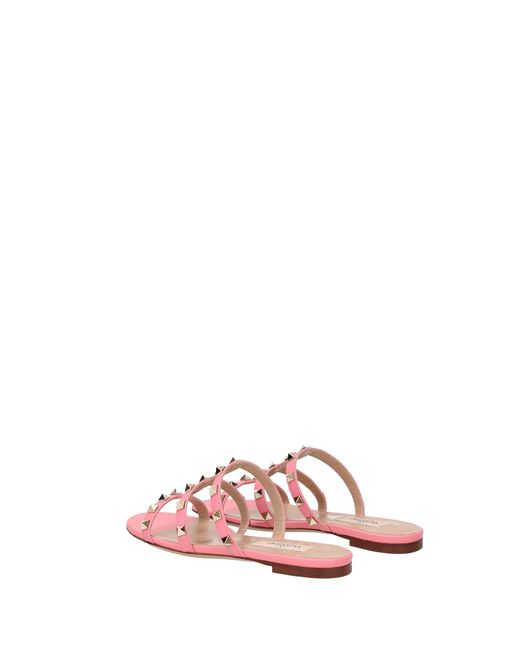 54c6f0b6ce61a ... Valentino - Slippers And Clogs Women Pink - Lyst ...