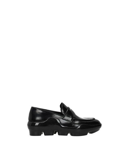 Prada Black Loafers Leather