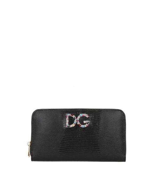 Dolce & Gabbana Wallets Women Black