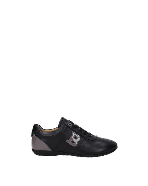 Bally Black Sneakers Leather