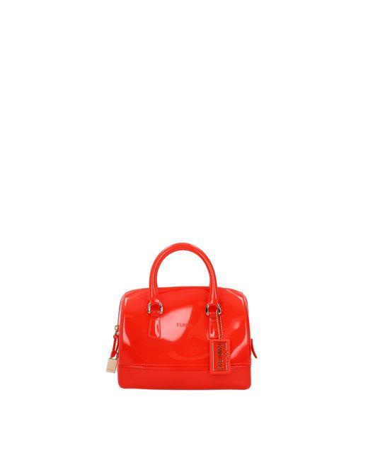 Furla Handbags Candy Women Red
