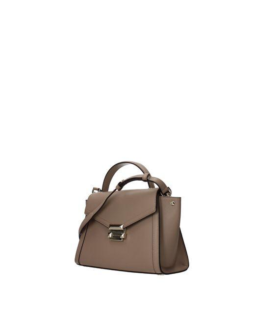 e6851d8f8cb6 ... Michael Kors - Multicolor Handbags Whitney Women Beige - Lyst ...
