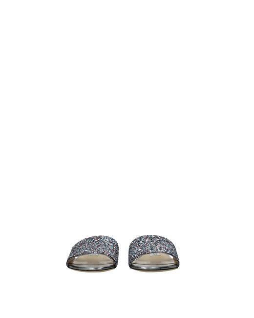 Jimmy Choo Women's Slippers And Clogs Joni Woman Multicolour