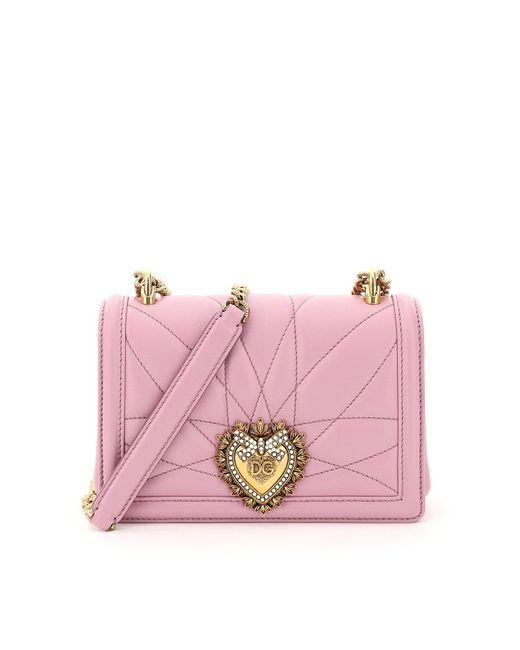 Dolce & Gabbana Blue Devotion Small Crossbody Bag