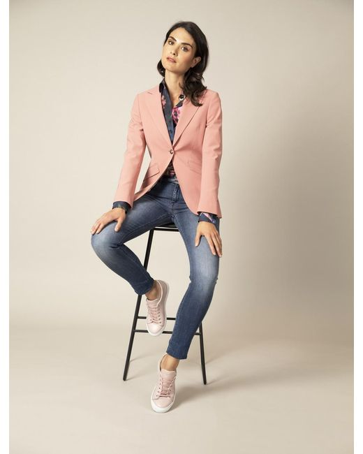 Cavallaro Napoli Dames Blazer - Atessa Blazer - Roze in het Pink