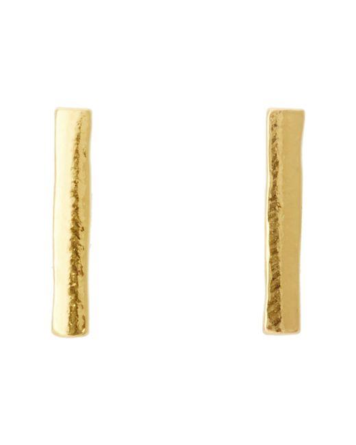 Gorjana | Metallic Taner Bar Mini Studs | Lyst