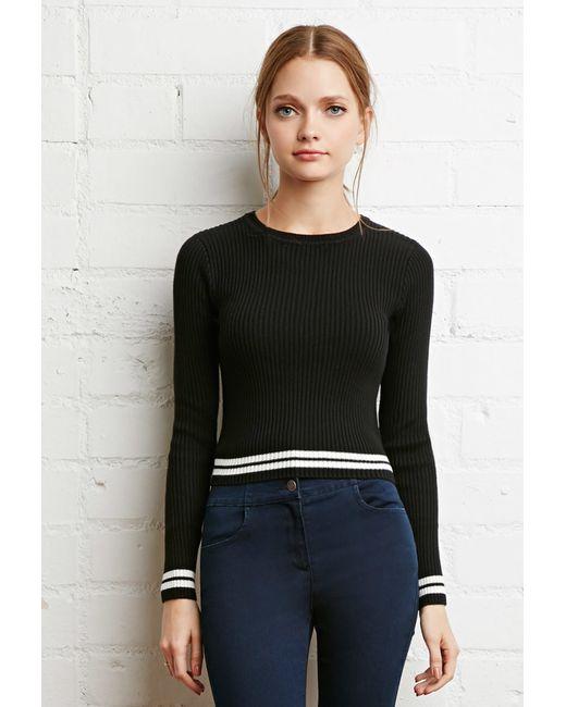 Varsity Stripe Sweater Forever 21 20