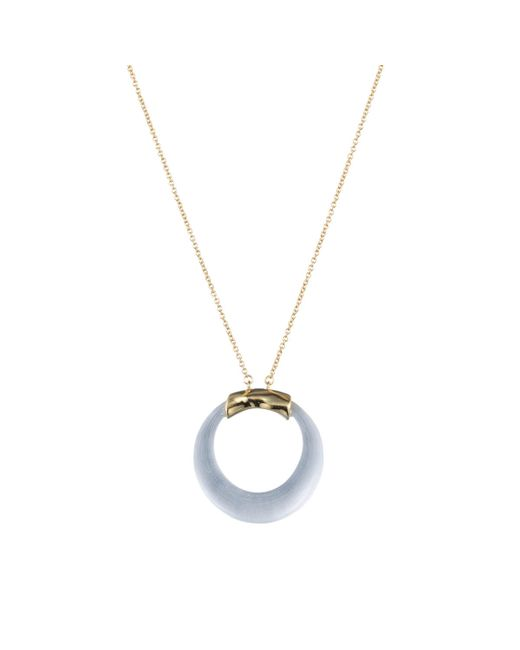 Alexis Bittar   Metallic Gold Circle Necklace You Might Also Like   Lyst
