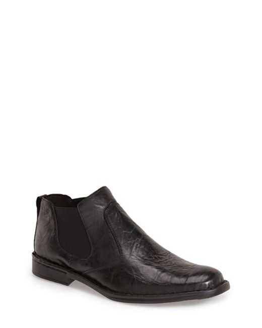 Josef Seibel | Black 'douglas' Boot for Men | Lyst